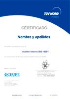 Certificado Tuv Nord