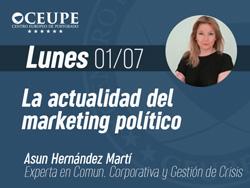 La actualidad del marketing político