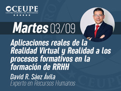 Aplicaciones reales de la Realidad Virtual y Realidad a los procesos formativos en la formación de RRHH