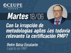 Con la irrupción de metodologías ágiles ¿es todavía relevante la certificación PMP?