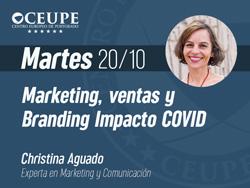 Marketing, ventas y branding impacto COVID