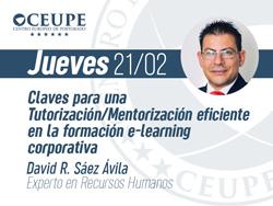 >Claves para una Tutorización/Mentorización eficiente en la formación e-learning corporativa