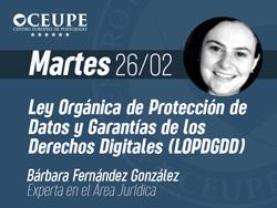 Ley Orgánica de Protección de Datos y Garantías de los Derechos Digitales (LOPDGDD)