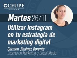 Utilizar Instagram en tu estrategia de marketing digital