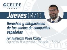 Derechos y obligaciones de los socios de compañías españolas