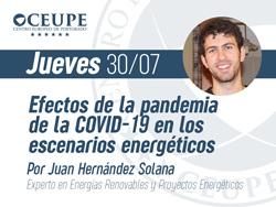Efectos de la pandemia de la COVID-19 en los escenarios energéticos
