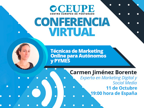 TÉCNICAS DE MARKETING ONLINE PARA AUTONOMOS Y PYMES
