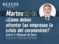 ¿Cómo deben afrontar las empresas la crisis del coronavirus?