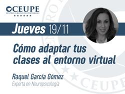 Cómo adaptar tus clases al entorno virtual