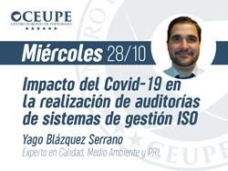 Impacto del Covid-19 en la realización de auditorías de sistemas de gestión ISO