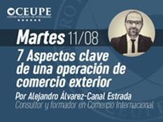 7 ASPECTOS CLAVE DE UNA OPERACIÓN DE COMERCIO EXTERIOR