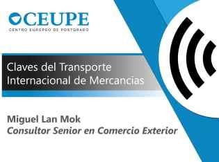 CLAVES DEL TRANSPORTE INTERNACIONAL DE MERCANCIAS