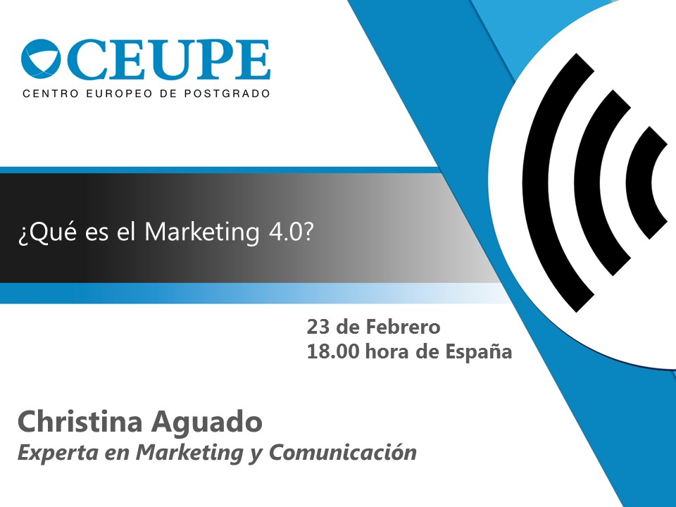 ¿QUÉ ES EL MARKETING 4.0?