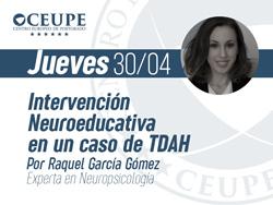 Intervención Neuroeducativa en un caso de TDAH