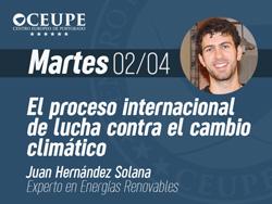 El proceso internacional de lucha contra el cambio climático: convenciones y conferencias internacionales