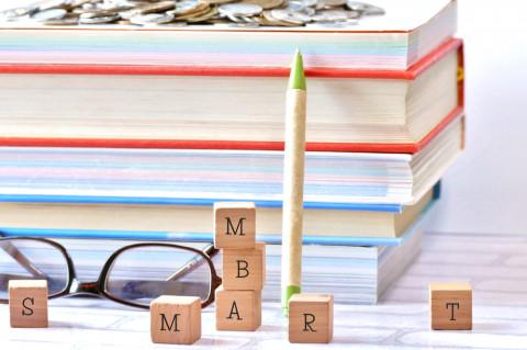 Símbolo de MBA y habilidades directivas