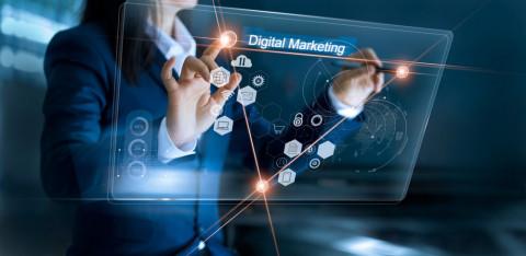 Símbolos de marketing digital