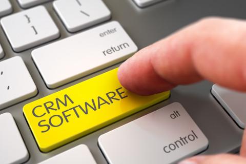 Tecla de CRM en un ordenador