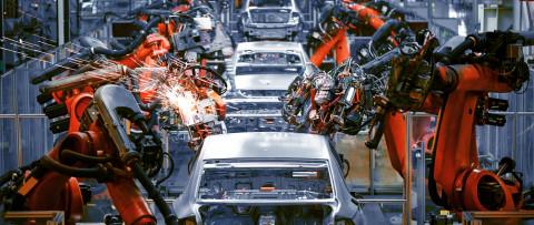 Cadena de montaje de coches