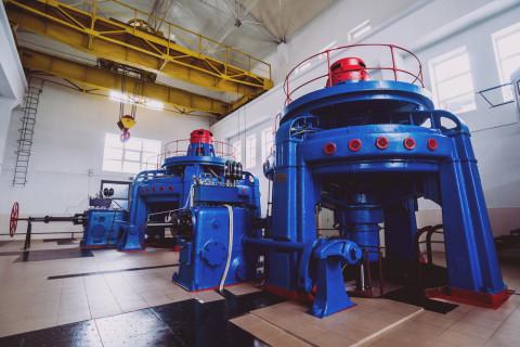 Turbinas para generar energía hidráulica