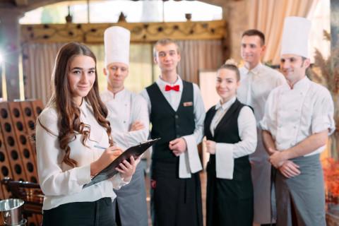 Personal de un restaurante