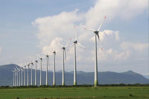 Parque de tratamiento de energía eólica
