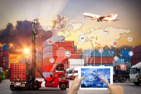 Imagen de logística y cadena de suministros
