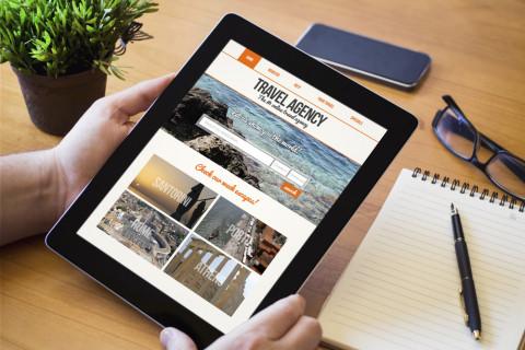 Web del sector del turismo