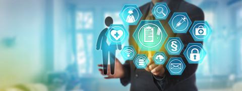 Símbolo Máster en Gestión Directiva en Salud