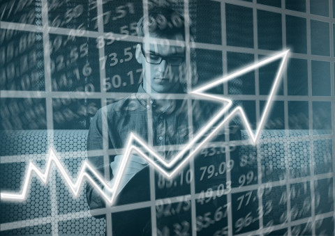 Estudiante de análisis financiero