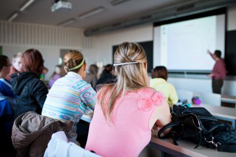 alumnos del Máster en Administración de Instituciones Educativas