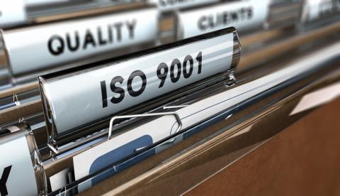 Carpeta con norma ISO