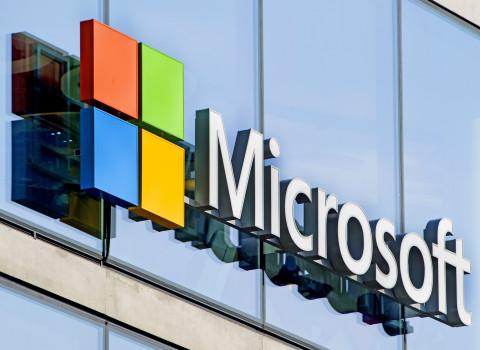 Cartel de Microsoft