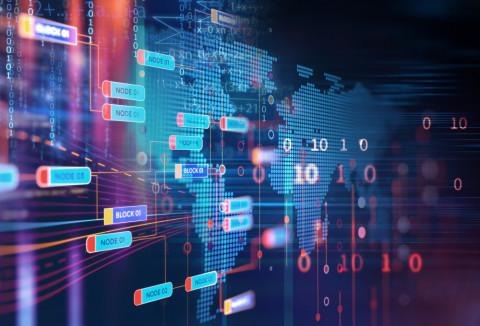 Panel con datos informáticos