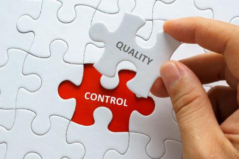 Símbolo de control de calidad