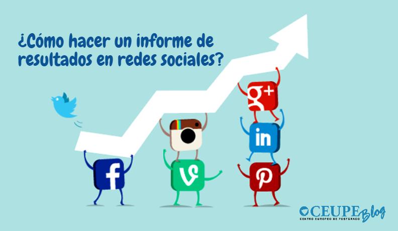 Como Hacer Un Informe De Resultados En Redes Sociales