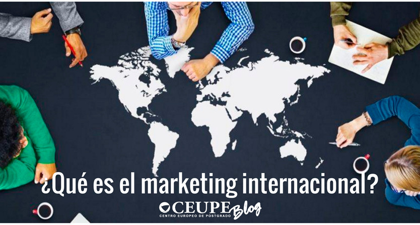 ¿Qué es el marketing internacional?