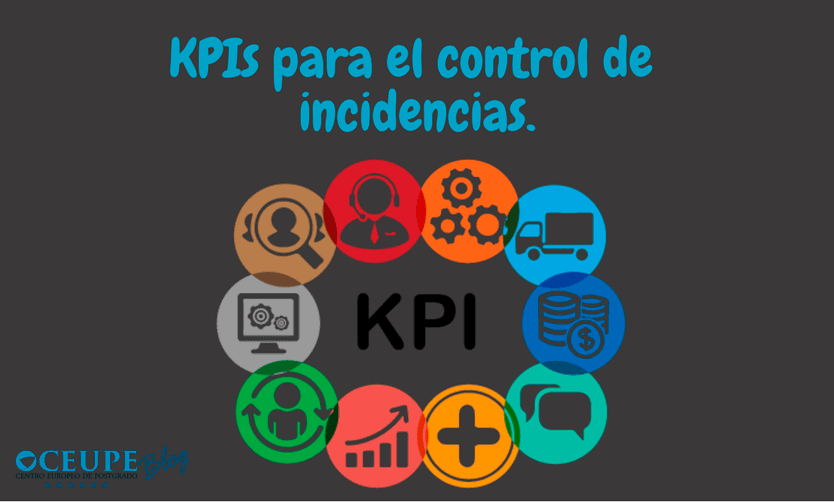 KPIs para el control de incidencias.