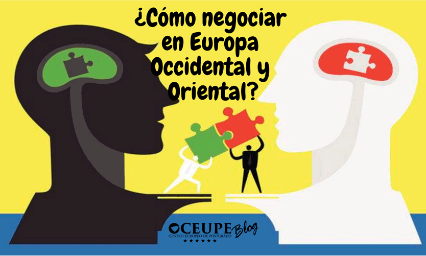 ¿Cómo negociar en Europa Occidental y Oriental?