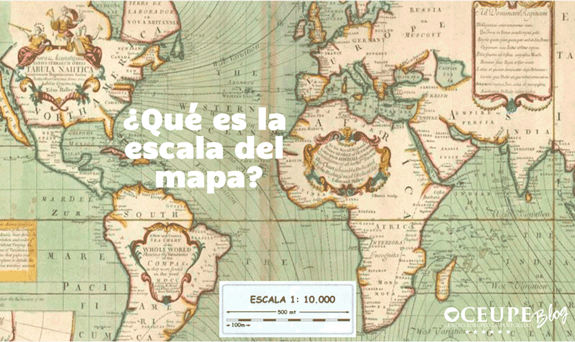 La Escala Del Mapa.Que Es La Escala Del Mapa