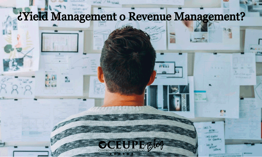 ¿Yield Management o Revenue Management?