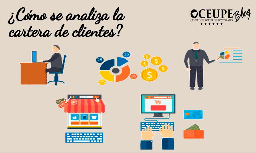 Cómo se analiza la cartera de clientes?
