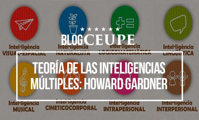Teoría De Las Inteligencias Múltiples Howard Gardner Y Sternberg
