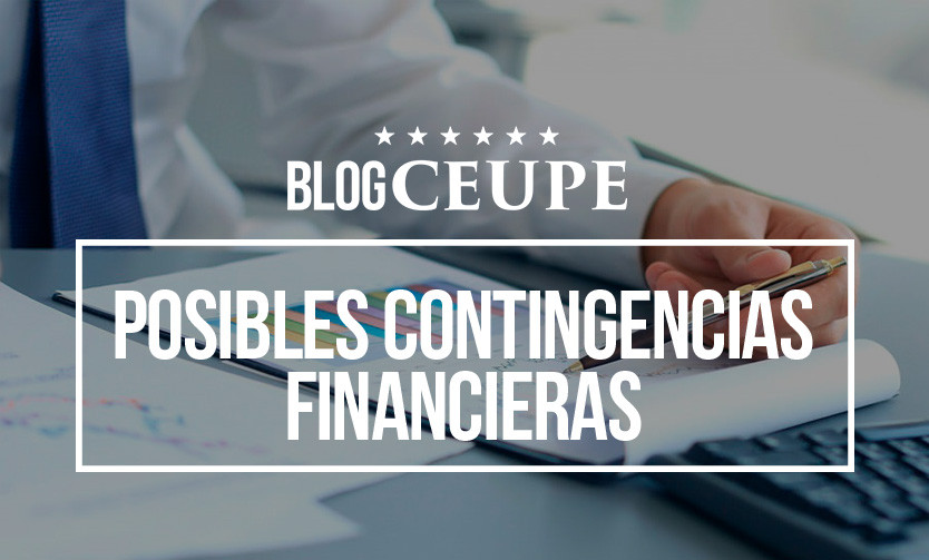 Posibles contingencias financieras