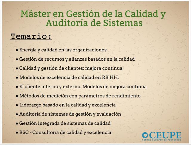 temario-máster-gestión-calidad-y-auditorías-de-sistemas