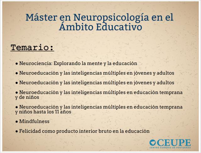 temario-máster-neuropsicología-en-el-ámbito-educativo-ceupe