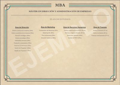 titulo académico del master en recursos humanos