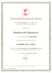 Titulo Universidad Nebrija